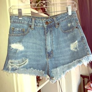 Urban Outfitters BDG High Rise Cheeky shorts
